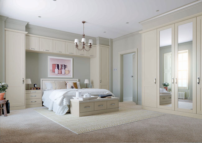 Luxury fitted wardrobes luxury for living for Bedroom ideas uk