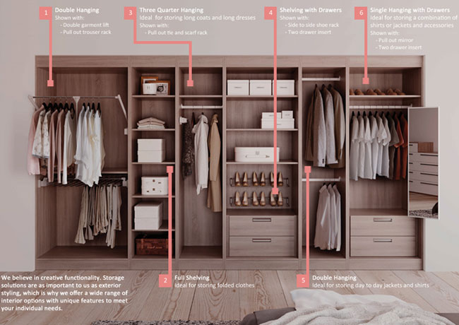 Fitted Bedroom Wardrobes Porthcawl Bedrooms By Luxury For Living