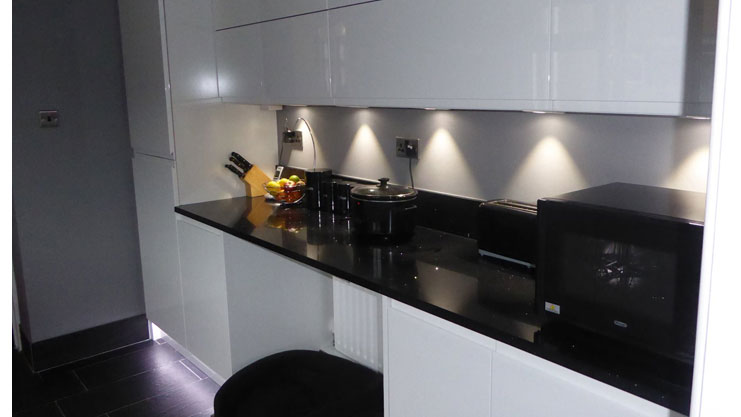 Mr & Mrs Castley kitchen in Neath