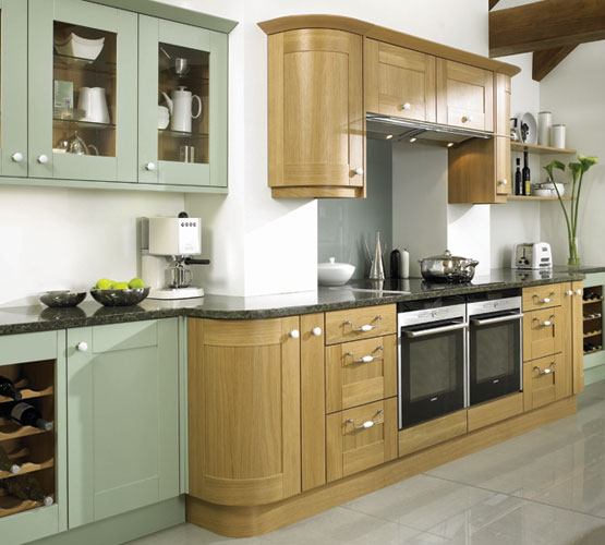 Complete Collection Lincoln Natural Oak & Painted Willow Green