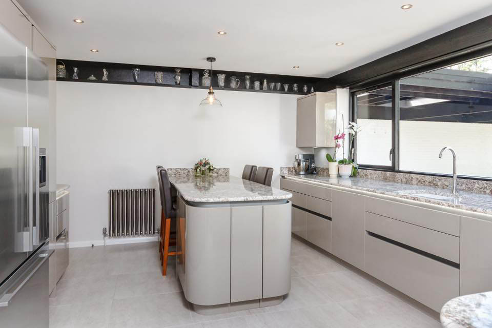 British Gloss Kitchen