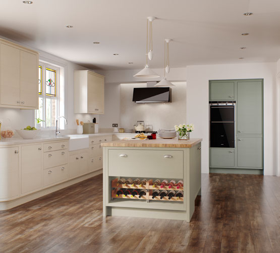 English Revival Kitchens