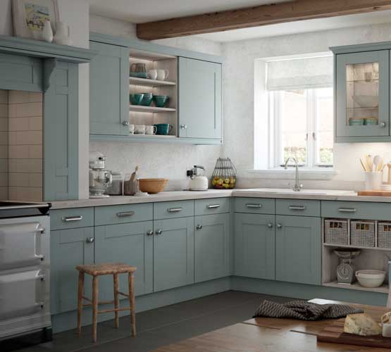 Town and Country Canterbury Pale Pacific Kitchen