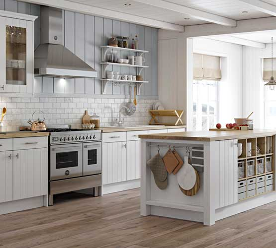 Town and Country Milford White Kitchen